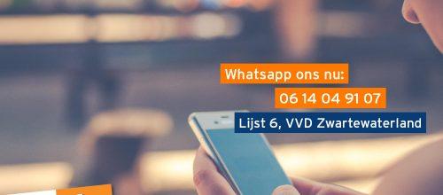 vragen over whatsapp